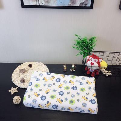 2019新款儿童泰国进口乳胶枕 动物乐园兰