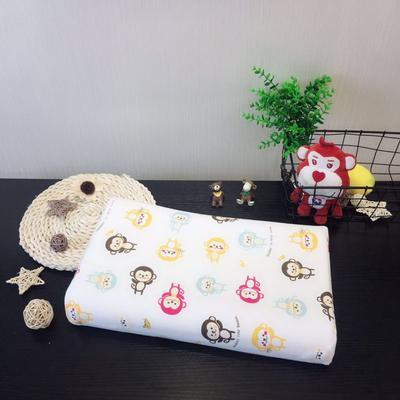 2019新款儿童泰国进口乳胶枕 猴子