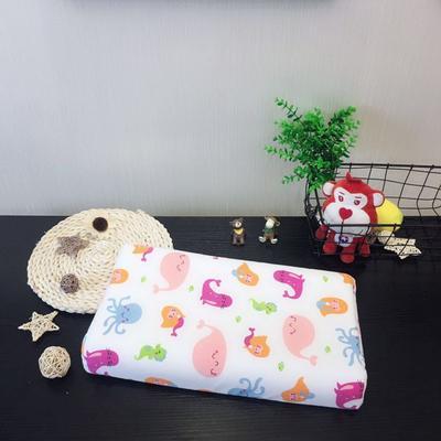 2019新款儿童泰国进口乳胶枕 美人鱼