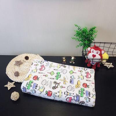 2019新款儿童泰国进口乳胶枕 涂鸦