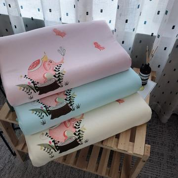 新品大象伽迪萨儿童乳胶枕头枕芯