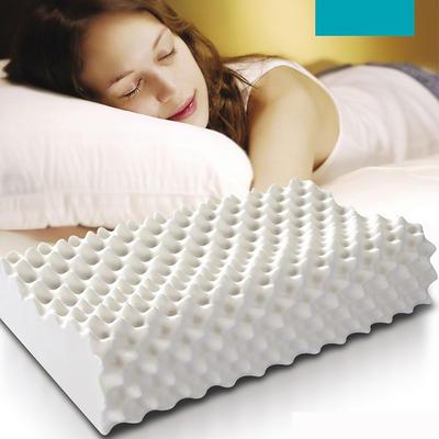 新款泰国天然成人按摩乳胶枕芯防螨学生乳胶枕芯枕头  琅琊款 新款泰国天然成人按摩乳胶枕芯防螨学生乳胶