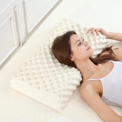 新款泰国天然成人按摩乳胶枕芯防螨学生乳胶枕芯枕头  美包款 新款泰国天然成人按摩乳胶枕芯防螨学生乳胶