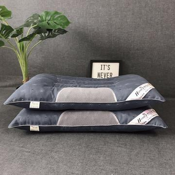 促销决明子保健枕芯枕头 护颈保健枕  蓝色