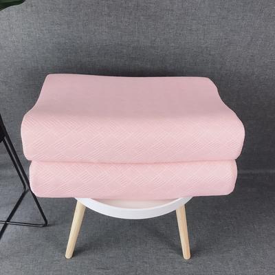 泰国天然乳胶枕芯枕头   几何空间   粉色 泰国天然乳胶枕芯枕头   几何空间