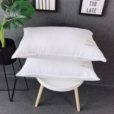 新品双针云朵促销枕芯 高弹枕头 促销学生成人枕芯 新品双针云朵促销枕芯