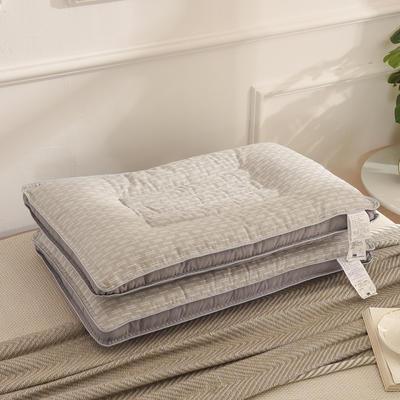 功能枕芯 灰色石墨烯决明子保健枕芯枕头 功能枕芯 灰色石墨烯决明子保健枕芯枕头