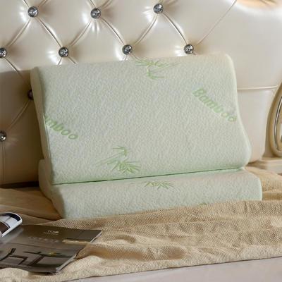 竹炭纤维记忆枕芯枕头 竹炭纤维记忆枕芯枕头  30*50cm