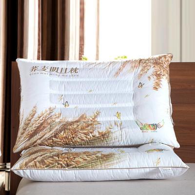 3D炫彩花草药物保健枕芯保健枕头 护颈枕 3D荞麦保健枕芯