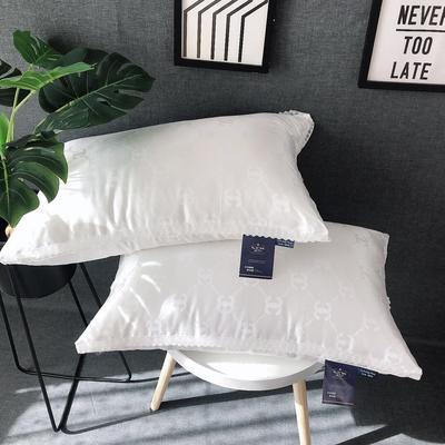 新品生态香奈尔羽丝绒枕芯高弹枕头 新品生态香奈尔羽丝绒枕芯高弹枕头