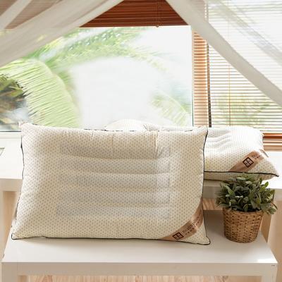 星点米黄羽丝绒枕芯枕头 星点米黄羽丝绒枕芯枕头