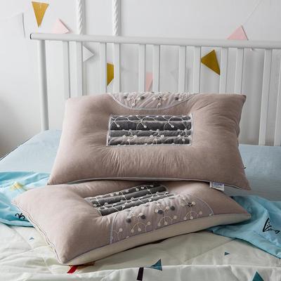 全棉生态决明子磁疗保健枕芯枕头 全棉生态决明子磁疗保健枕芯枕头