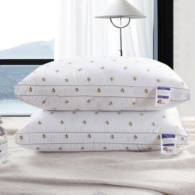 全棉印花炫彩小蜜蜂羽丝绒枕头 全棉印花炫彩小蜜蜂羽丝绒枕头