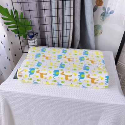 全棉卡通儿童乳胶枕芯 天然乳胶枕头27*45学生护颈枕婴儿保健枕 30*50学生款 长颈鹿