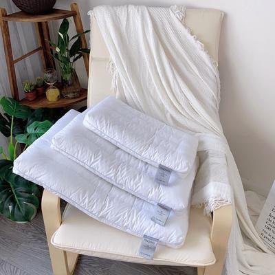 圆角学生低枕芯 儿童学生枕头 成人中低枕芯护颈枕芯 圆角学生低枕  30*50
