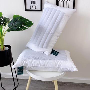 全棉荞麦酒店羽丝绒枕头  纯棉荞麦2用枕芯 正反2用枕芯