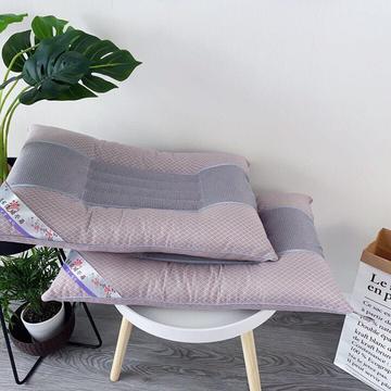 淘宝抖音促销活动款 48*74标准尺寸 全棉决明子理疗护颈枕