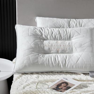 2020新款欧式艾香助眠护颈枕酒店香薰枕芯枕头 欧式艾香助眠护颈枕   一只装