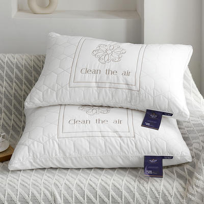 新款轻奢AIR舒适羽丝枕芯枕头 高弹酒店羽丝绒枕芯 轻奢AIR舒适羽丝枕  一只装