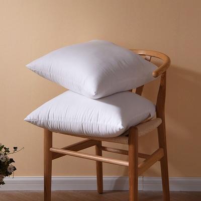 新款爆款枕头全棉防雨布多规格抱枕芯 婚庆靠垫芯 沙发垫芯 50X50cm 全棉抱枕芯  靠垫芯
