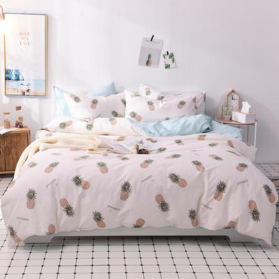 2018小清新系列 标准1.8m床 床笠款 一颗菠萝