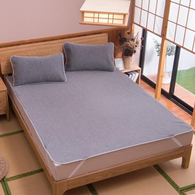 2019新款科技云母凉席 床单款0.9*2米(二件套) 彩云灰