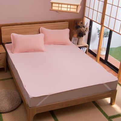 2019新款科技云母凉席 床单款0.9*2米(二件套) 条纹玉色