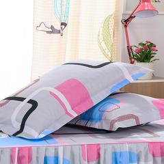 化纤单品系列化纤印花枕套 48cmX74cm/对 彩云阁