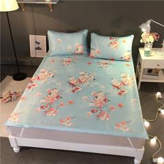 可水洗冰丝凉席床垫款 120*200cm(枕套一只) 典雅