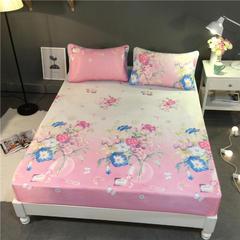 可水洗冰丝凉席床笠款 150*200cm (枕套两只) 茗香