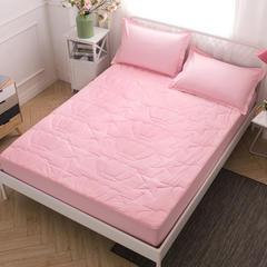 13372纯色皇冠纯棉夹棉 120*200 粉色