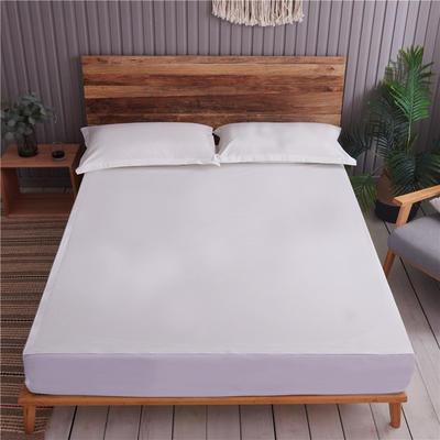 2019新款纯棉水洗棉六面全包 120x200床垫高5-12通用防水 纯白