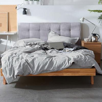 2019新款床笠款四件套 1.5m床床单款四件套 灰色轨迹