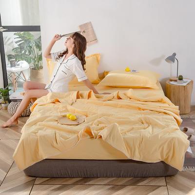 2020新款棉花填充纯棉色织水洗自由棉夏被 150x200cm单夏被 布拉格