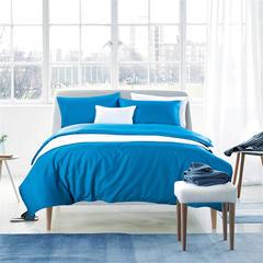 60支贡缎长绒棉素色四件套 标准 孔雀蓝