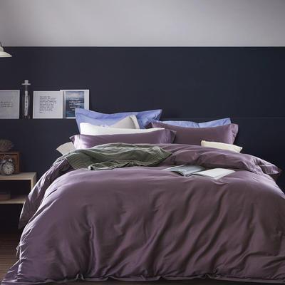 60素绣 hotel系列四件套 加大 冷艳紫