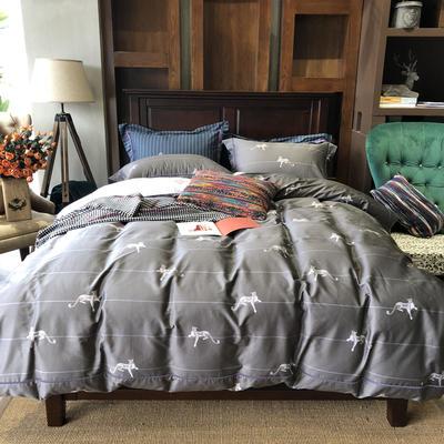 60北美棉工艺款系列四件套——豹款 1.5m/1.8m床 豹款
