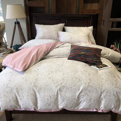 60北美棉工艺款系列四件套——爱丽丝 1.5m/1.8m床 爱丽丝