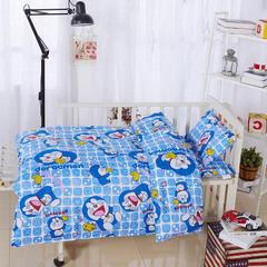 全棉卡通儿童套件不加棉(叮当猫) 110*150 棉花芯六件套:被芯(2斤)