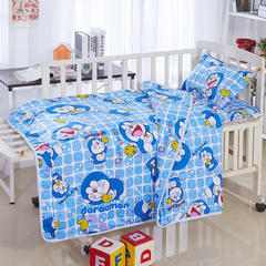 全棉卡通儿童套件夹棉(叮当猫) 110*150 棉花芯六件套:被芯(2斤)