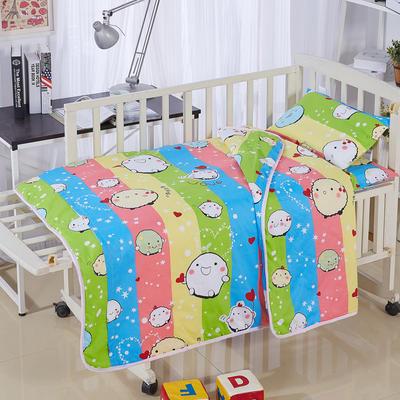 全棉卡通儿童套件夹棉(糯米团) 110*150 丝棉芯六件套:被芯(1.5斤)