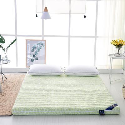 床垫系列2017新款天然乳胶床垫 1.2*2.0m( 6.5cm) 乳胶床垫(绿)