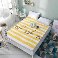 床垫系列2017新款水洗棉慢回弹床垫 0.9*2.0m 小蜜蜂