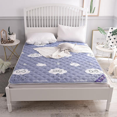 2018新款水洗棉床护垫床垫垫子 1.2*2.0 星晴