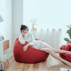 2018新款懒人沙发 65*65*40cm 红色