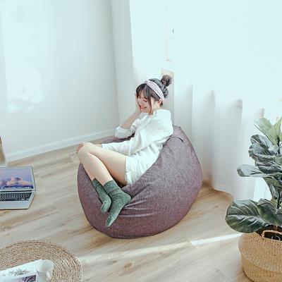 2018新款懒人沙发 65*65*40cm 深紫色
