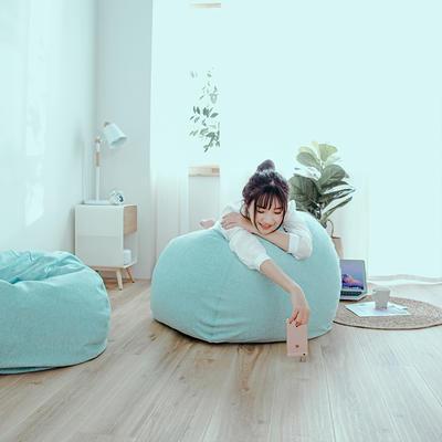 2018新款懒人沙发 65*65*40cm 天蓝