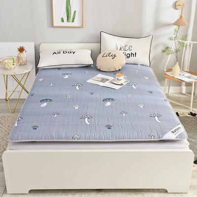 2019新款 亲肤棉加厚防滑床垫-6cm床垫床褥子垫背学生床垫可折叠 120*200cm 小蘑菇