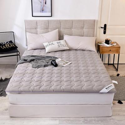 2019新款 水洗棉加厚防滑床垫 0.9*2.0 灰