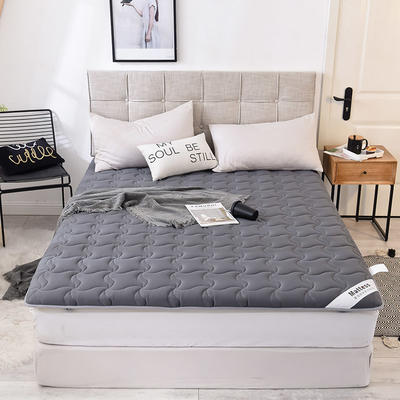 2019新款 水洗棉加厚防滑床垫 0.9*2.0 深灰